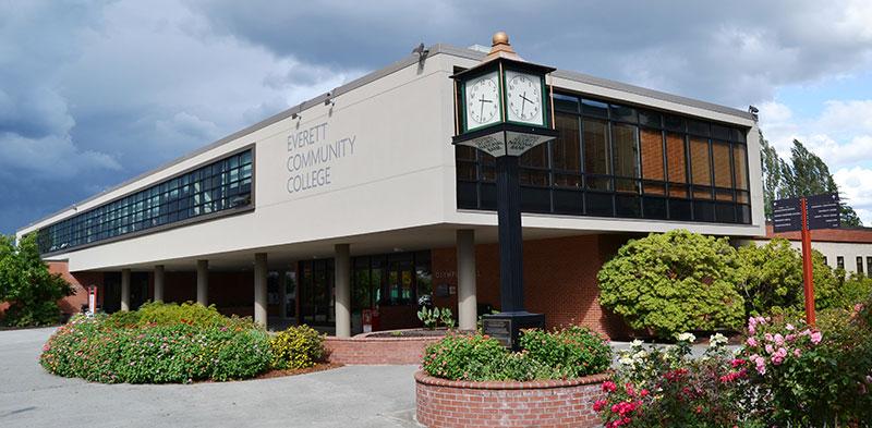 Campus of Everett community College